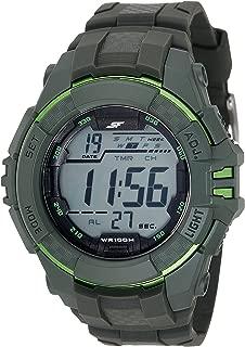 Fibre (SF) Carbon Fibre Digital Black Dial Men's Watch-77055PP03