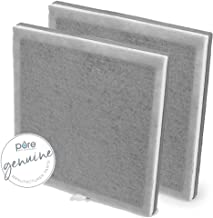 Pure Enrichment Genuine 3-in-1 True HEPA Replacement Filter for the PureZone Air Purifier - 2 Pack (PEAIRPLG)