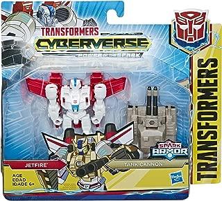 Transformers Tra Cyberverse Spark Armor JETFIRE, Brown/A