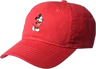 Concept One Men's Mickey Washed Twill Baseball Cap, Adjustable