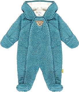 Steiff Baby-Jungen Mit Süßer teddybärapplikation Einteiler