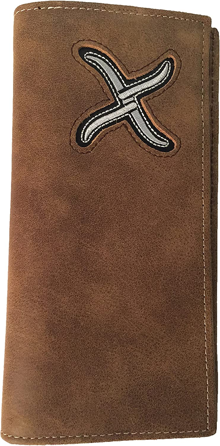Twisted X Leather Rodeo Wallet With Twisted X Imprinted Logo