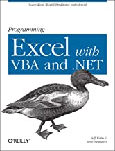 Programming Excel with VBA and .NET: Solve Real-World Problems with Excel