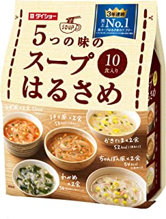 Five of the taste of the soup vermicelli 10 meals X 2 containing 164.6g