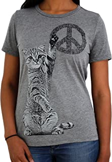 Soft & Comfortable Cat T Shirt for Women Girls for Cat Lovers Cat Mom