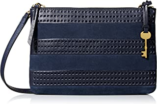 Fossil Women Devon Handbag, Midnight Navy, One Size