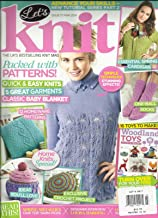 LET'S KNIT, ISSUE,77 MARCH, 2014 (THE UK'S BEST SELLING KNIT MAGAZINE)