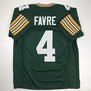 Unsigned Brett Favre Green Bay Green Custom Stitched Football Jersey Size Men's XL New No Brands/Logos