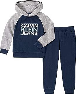 Calvin Klein Boys' 2 Pieces Pullover Pants Set