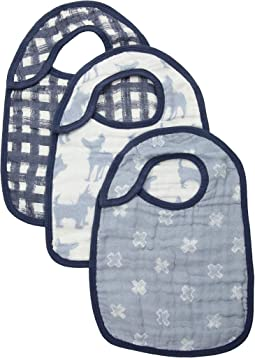 Classic Snap Bibs 3-Pack