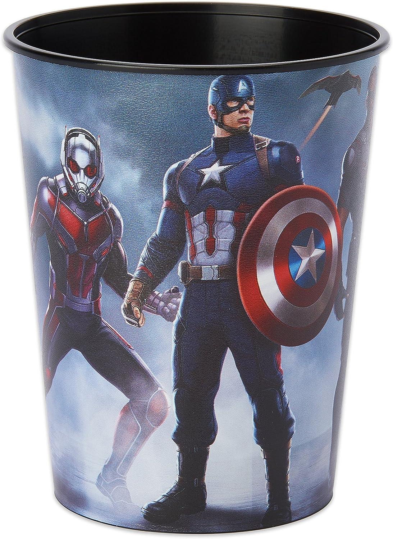 Captain America bluee Plastic 16oz Favor Cup (Each)