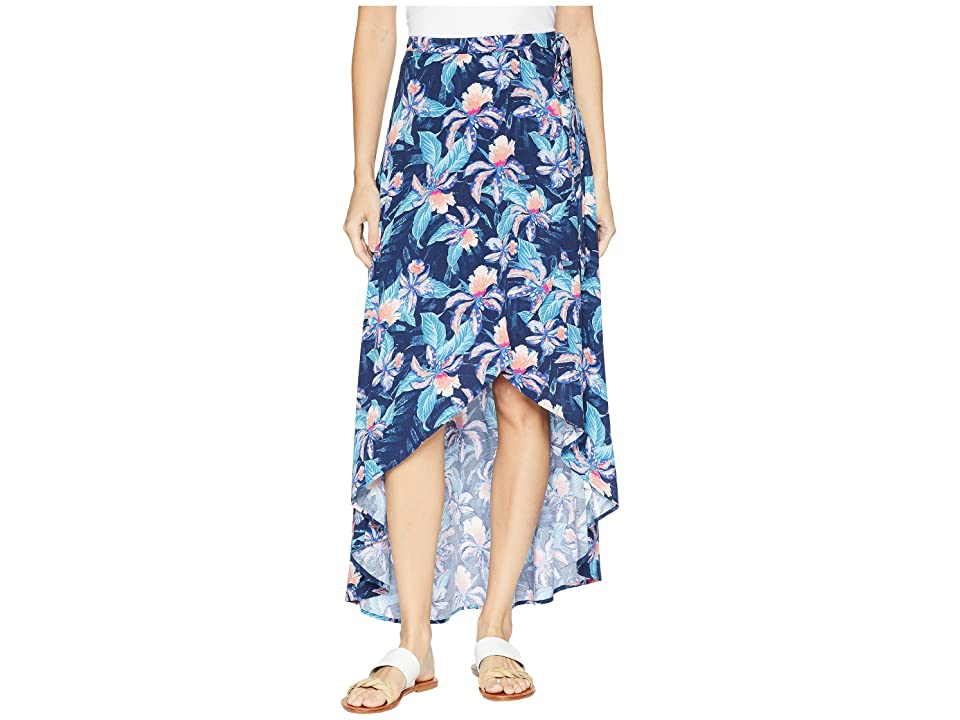 Rip Curl Tropic Tribe Maxi Skirt (Navy) Women