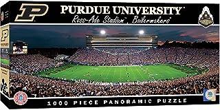 (Purdue Boilermakers, Standard Packaging) - MasterPieces Collegiate Purdue Boilermakers 1000 Piece Stadium Panoramic Jigsa...