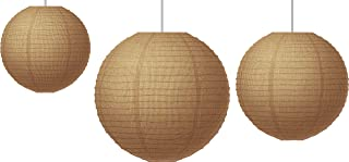 Paper Lanterns, Burlap (TCR77228)