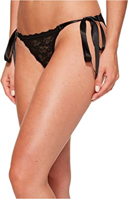Hanky Panky Peek-A-Boo Lace Side Tie Bikini