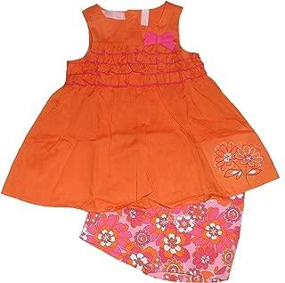 Niños Sede Little Girl Juego de pantalón corto con diseño de volantes Tanque & Floral