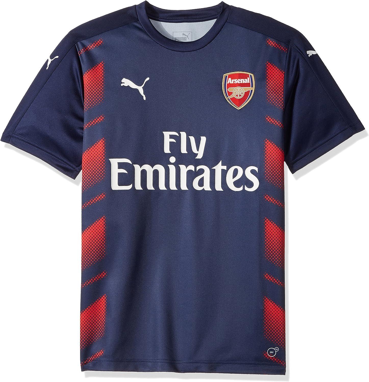 PUMA Men's Arsenal Fc Stadium Jersey W. Logo