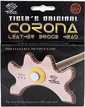 Tiger Corona Pool Cue Leather Bridge Head
