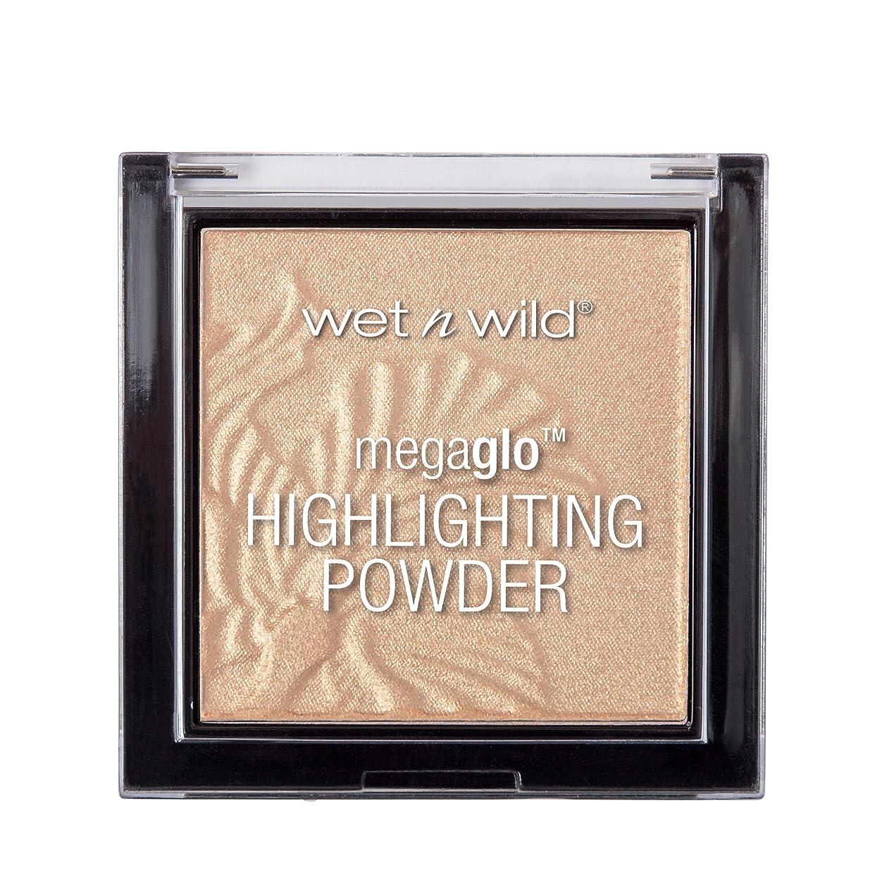 脇に露骨なブラザーWET N WILD MegaGlo Highlighting Powder - Golden Flower Crown (並行輸入品)