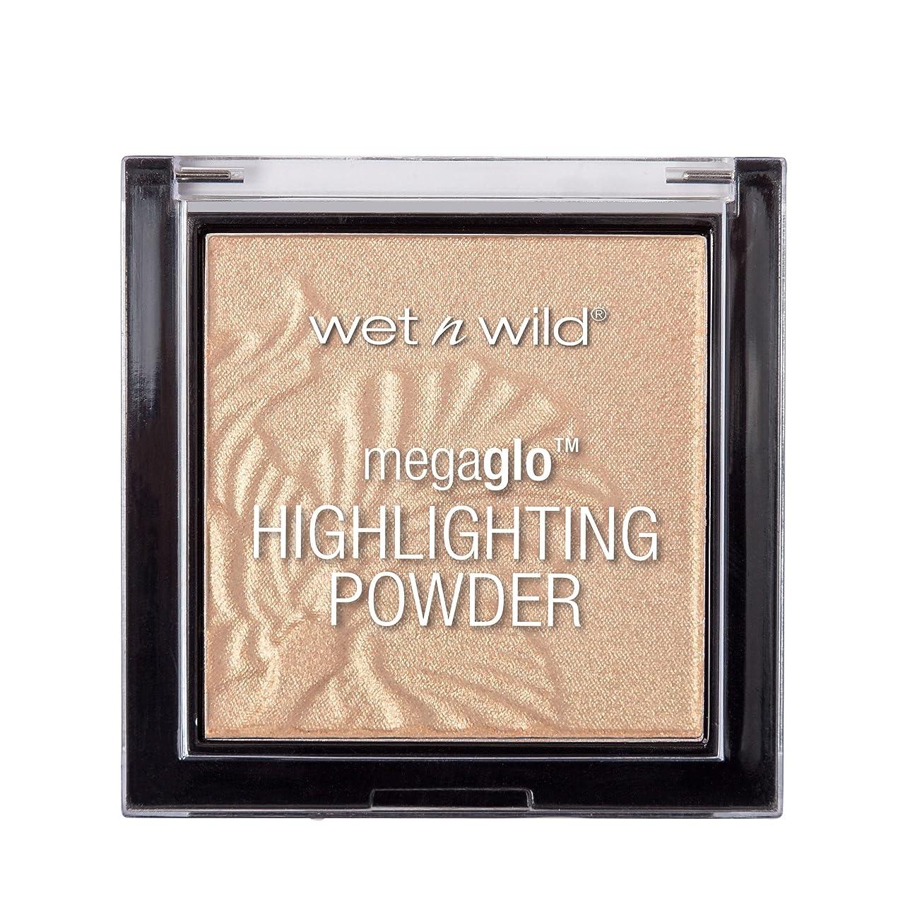 転用医療の守銭奴WET N WILD MegaGlo Highlighting Powder - Golden Flower Crown (並行輸入品)