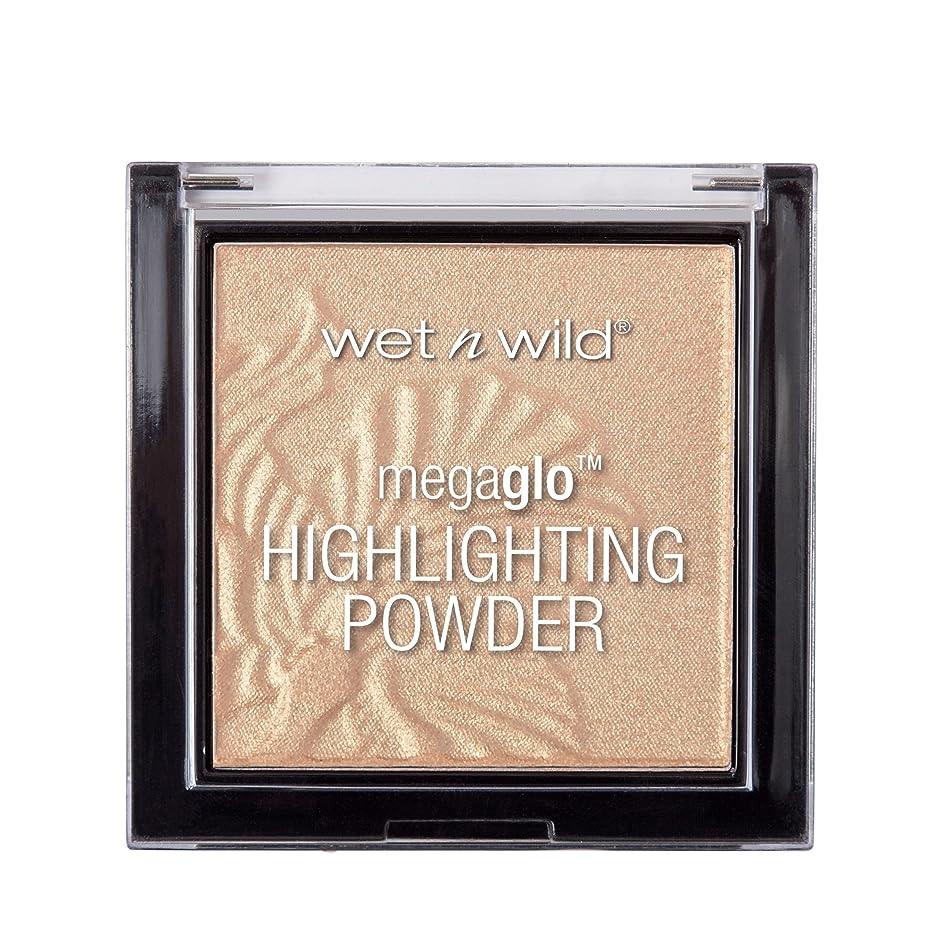 バンド残基汚物WET N WILD MegaGlo Highlighting Powder - Golden Flower Crown (並行輸入品)