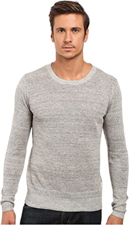 Scotch & Soda - Home Alone Lightweight Knitted Crew Neck Shirt