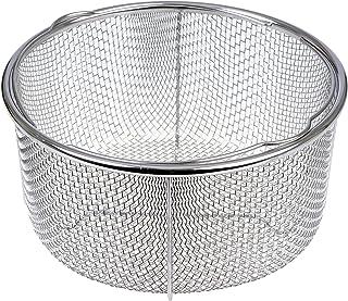 GRÄWE Accesorio Cesta para Cocina al Vapor Gräwe Redondo 21 cm con Soporte | Acero Inoxidable