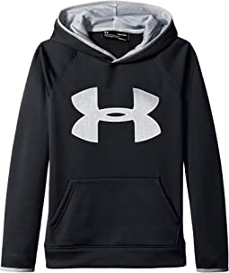 under armour jumper. under armour kids - fleece big logo hoodie (big kids) jumper
