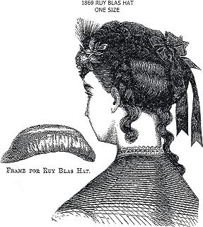 1869 Ruy Blas Hat Pattern