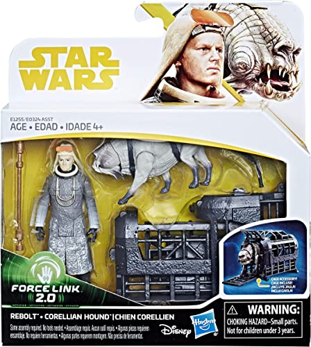 lowest Star new arrival Wars Rebolt and Corellian 2021 Hound - Force Link 2.0 Action Figures online