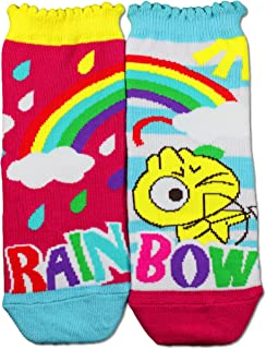 Gama Family Word Learning Unisex Children Socks - Teach Compound Word Rainbow