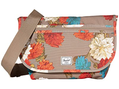 Herschel Supply Co. Grade Mid-Volume (Vintage Floral Pine Bark) Messenger Bags