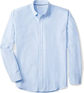 blue oxford cloth shirt