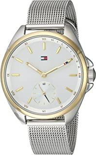 Tommy Hilfiger Women's Analog Quartz Watch With Two-Tone-Stainless-Steel Strap 1781759, Two Tone Band