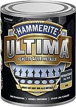 5379759 Hammerite ULTIMA metaalbescherming lak roest 750ml mat antraciet grijs RAL 7016