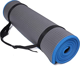 BalanceFrom GoFit All-Purpose 2/5-Inch (10mm) Extra Thick High Density Anti-Slip Exercise..