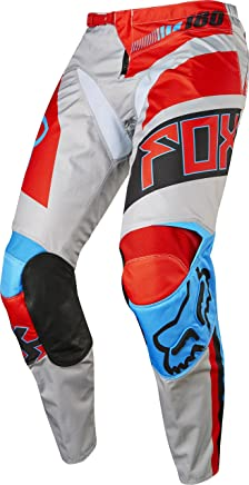 2017 Fox Racing 180 Falcon Pants-Grey/Red-34