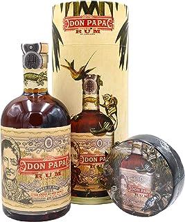 Don Papa Geschenkset - Rum 0,7l  T-Shirt in Geschenkdose