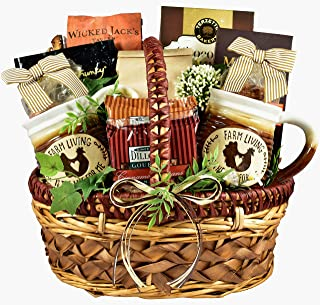 Gift Basket Village Farmhouse Favorites, Gourmt Gift Basket Loaded with Classic Flavors, coffee