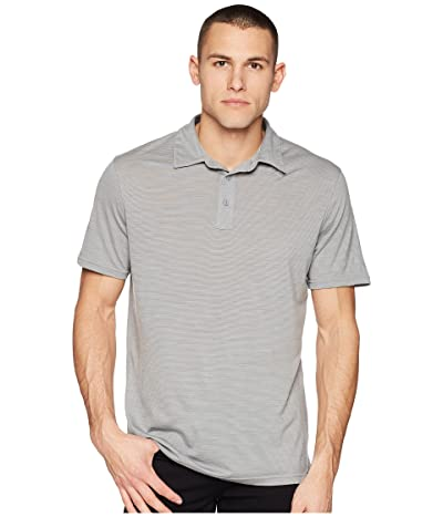 Smartwool Merino 150 Pattern Polo (Light Gray) Men