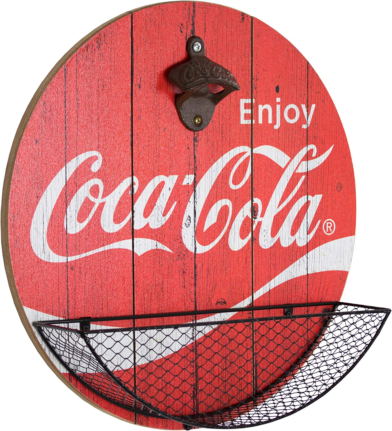 Inventory cleanup selling sale New Free Shipping Officially Licensed Vintage Coca Cola Catc Opener Cap Bottle and