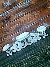 Magik Life Unity Candle Holder-Unity Candle Stand-Unity Candle Holder Set-Pillar Candle Holder-Wedding Gift -Ceremony Deco...