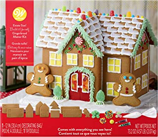 Wilton Build it Yourself Grand Gingerbread Manor Decorating Kit