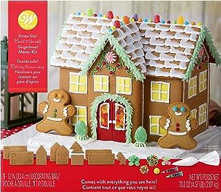 wilton pre baked gingerbread house kit