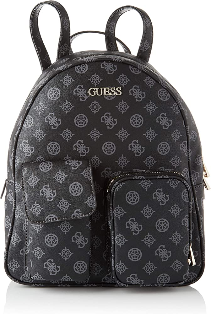 Guess utility vibe large backpack,zaino da donna,in pvc 7751330