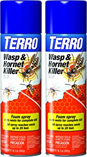 TERRO T3300-2 Wasp and Hornet Killer Twin Pack - 19 oz. each