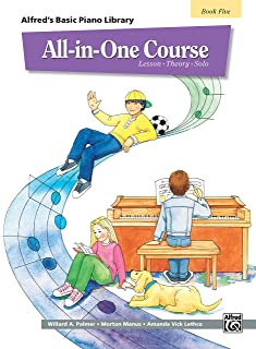 All-in-One Course for Children: Lesson, Theory, Solo, Book 5