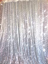 4ft X 6ft Silver Sequin Photo Backdrop, Any Size is Acceptable,Wedding Photo Booth,Photography Background,Ceremony Background