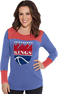 Touch by Alyssa Milano NBA Sacramento Kings Blindside Thermal, X-Large, Royal