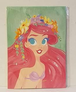 Disney WonderGround Gallery Little Mermaid Ariel Postcard by Gabby Zapata